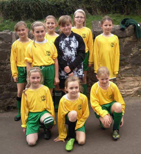 Girls' success in football tournament