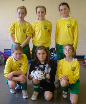 Girls Football Team 6-a-side competition