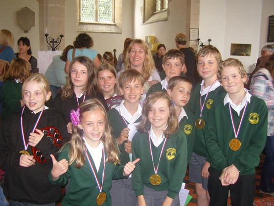 Year 6 Leaver's Service 2012