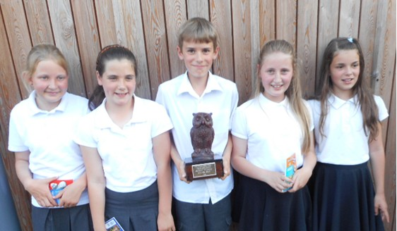 Our Wildlife Quiz team comes second in the COUNTY QUIZ FINALS