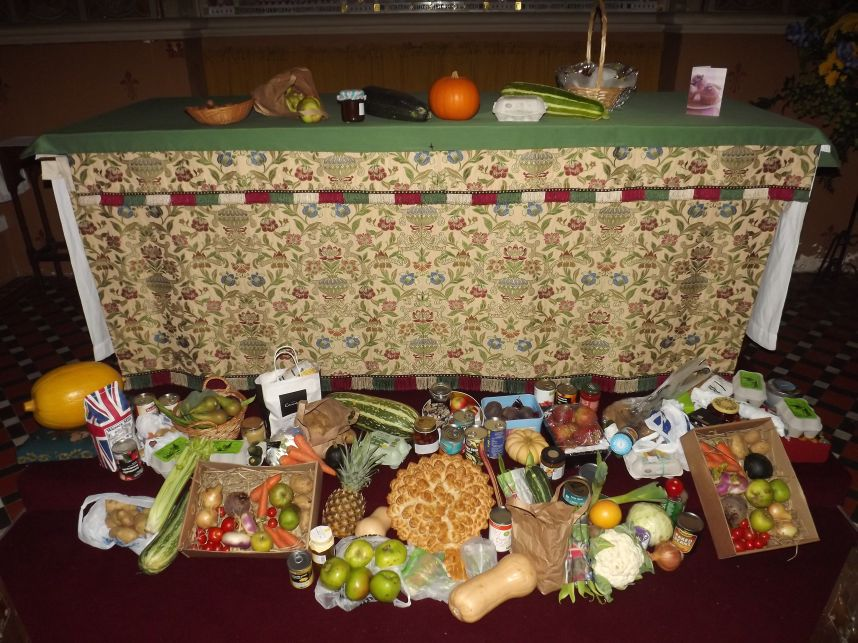 Harvest Thanksgiving 2012