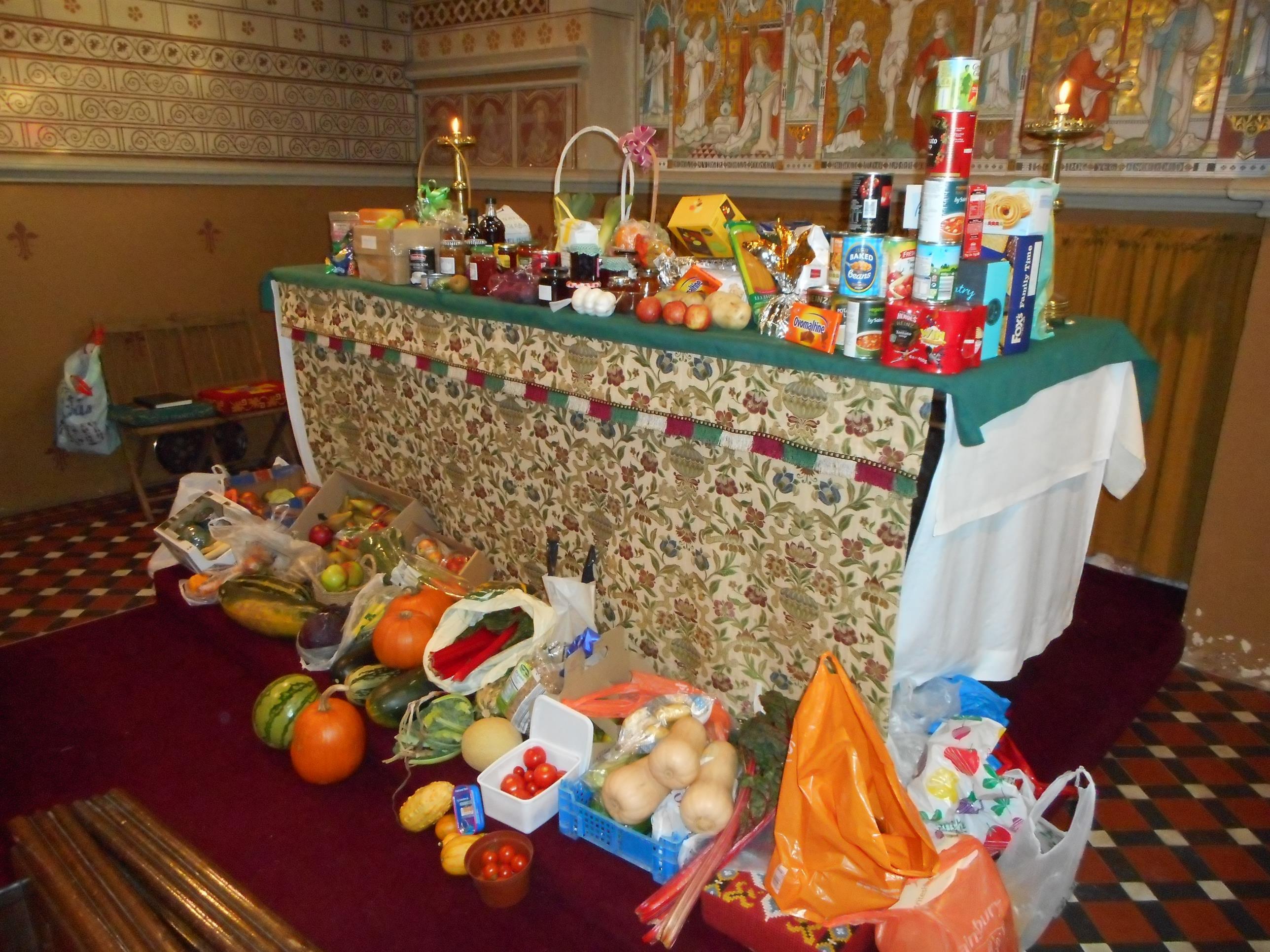 Harvest Thanksgiving 2015