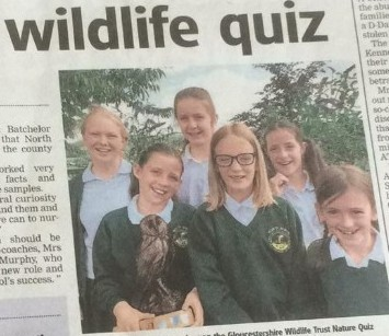 Nature Quiz success – County Champions Again!